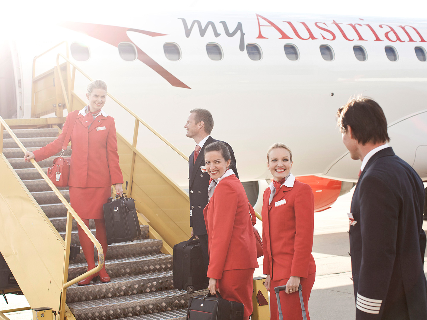 Photo: Services Team Austrian Airlines Airport