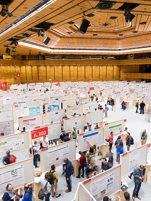 Photo: Main building Hall A poster exhibition Level 2