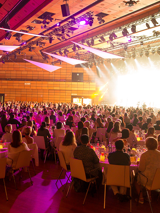 Photo: Main building Level 2 Hall A gala dinner