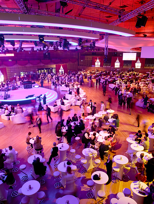 Photo: Main building Level 2 gala dinner