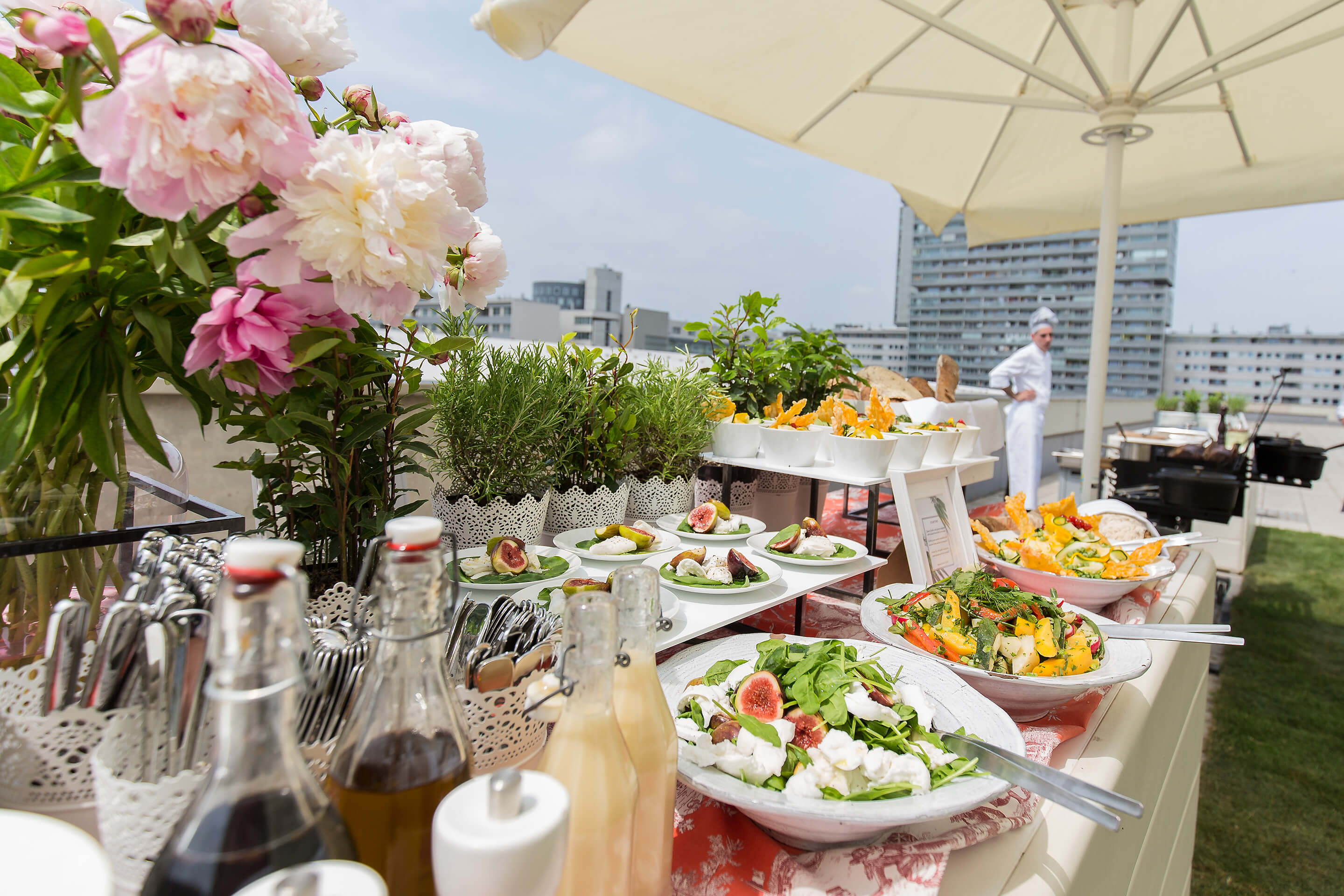 Foto: Haus Level 3 Rooftop Terrasse Motto Catering