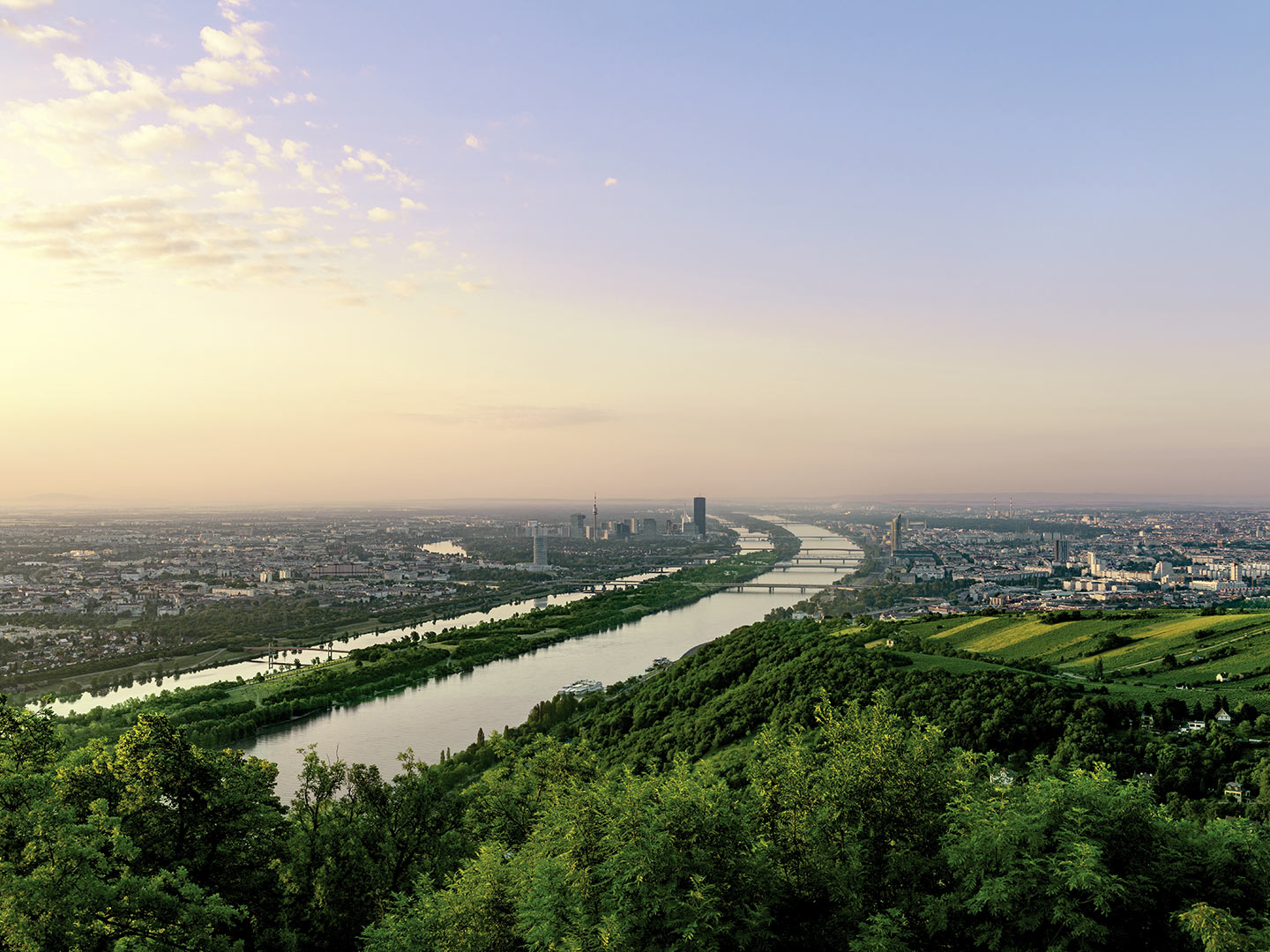 Photo: Services Green Meeting Vienna View of the Danube
